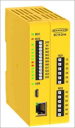 SC10系列 安全繼電器控制器 Image