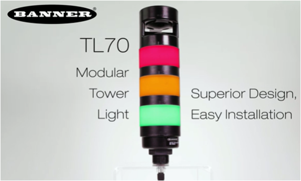 TL70系列 多色無線RGB塔燈 Image